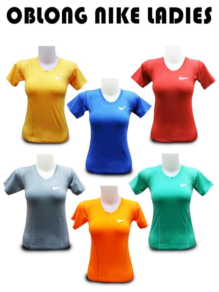 Baju Gym Fitness Senam Yoga Import Nike Polos Wanita - 4MYY91