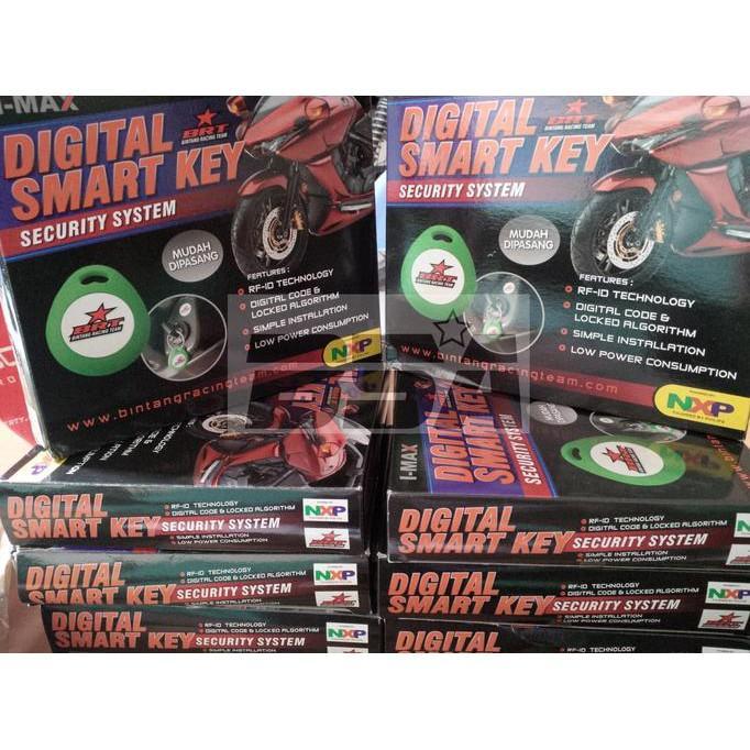 Alarm Motor Digital Smartkey Brt - Dkgole