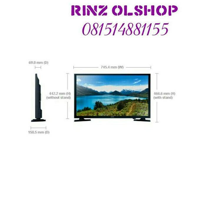 DISKON! LED TV SAMSUNG 32 SMART TV FLAT HD READY 32J4303 GARANSI RESMI