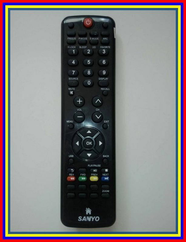 Remot Remote TV LCD LED Sanyo Haier KW