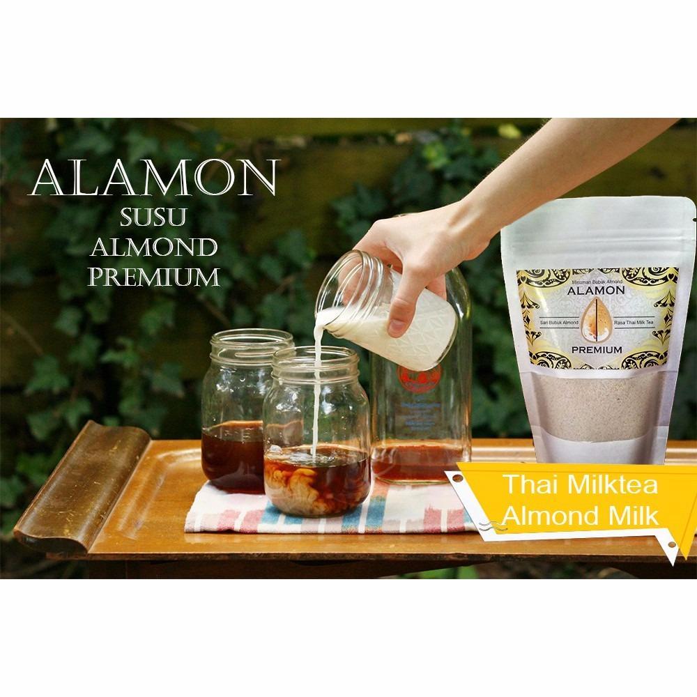 SUSU ALMOND PREMIUM BUBUK, ASI BOSTER, BRAIN NUTRITION & SKINN CARE, HALAL