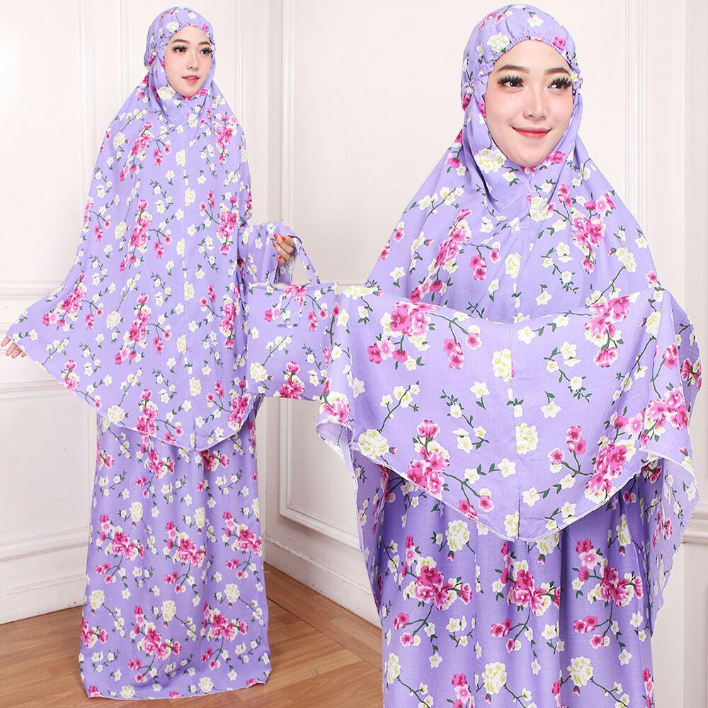 mukenah dewasa rayon bali adem peralatan sholat set baju atasan mukena hijab jilbab dewasa keong