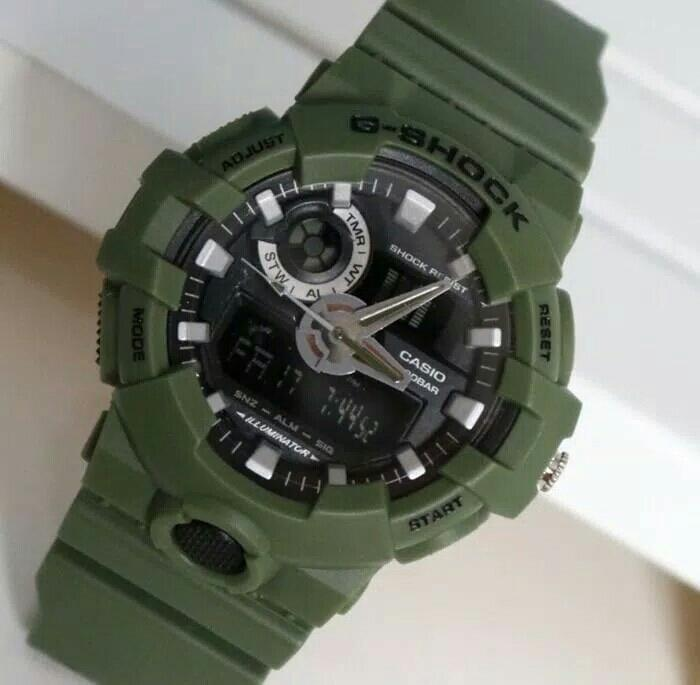 jam tangan g shock fashion sport army pria
