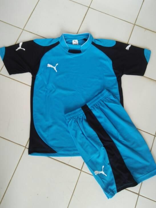 Setelan Baju Olahraga Puma @Sepak bola/Badminton/Kaos gym/Futsal/ Voly - QA71iM