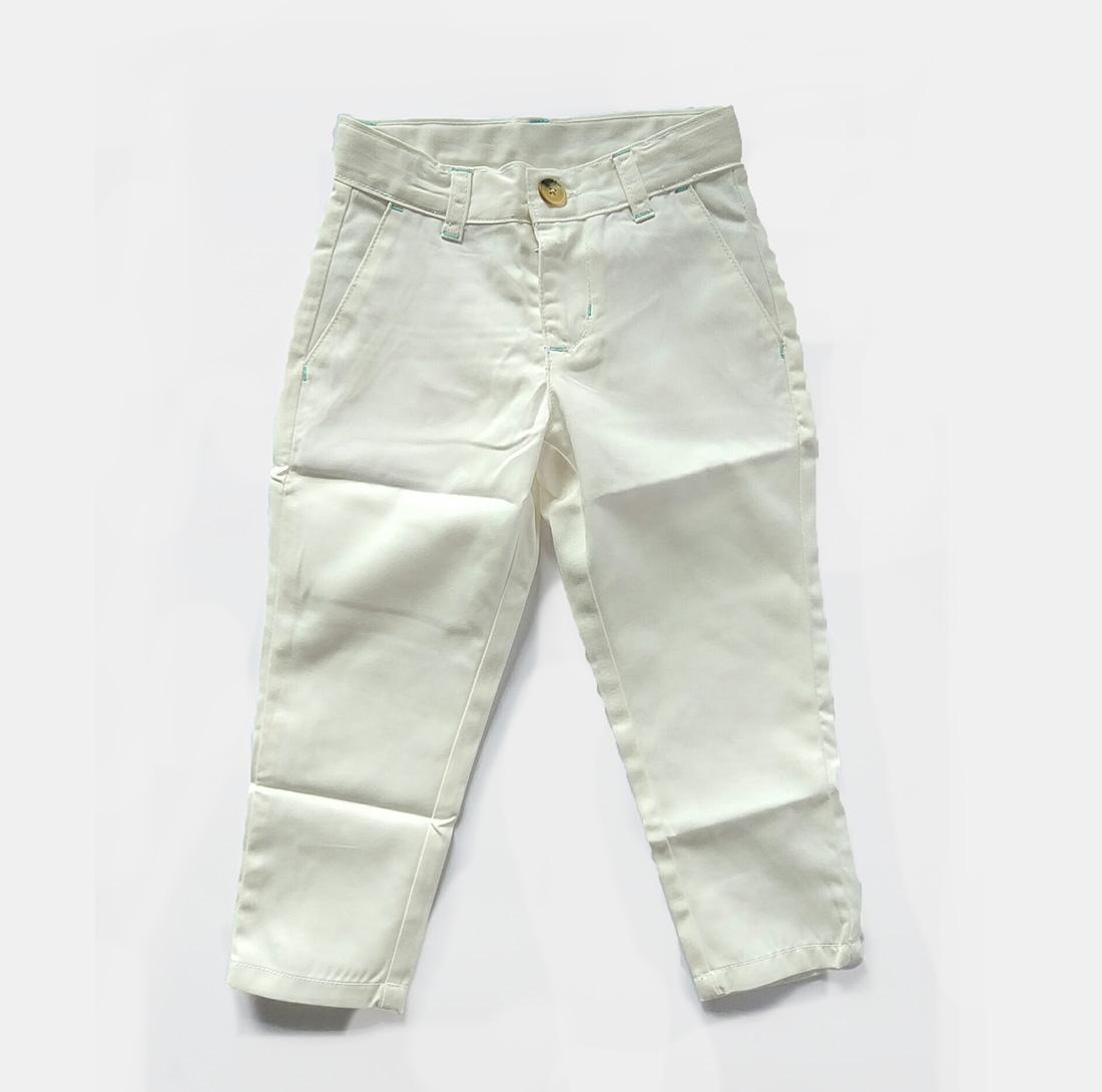 Vigomall Celana panjang anak laki laki 1-5 tahun putih gading / Celana anak laki laki ? celana chino anak