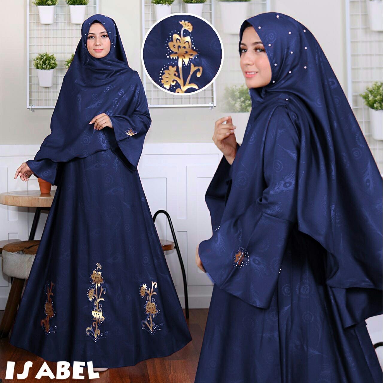 Gamis Muslim Isabel Embos Balotelli Syari - Navy