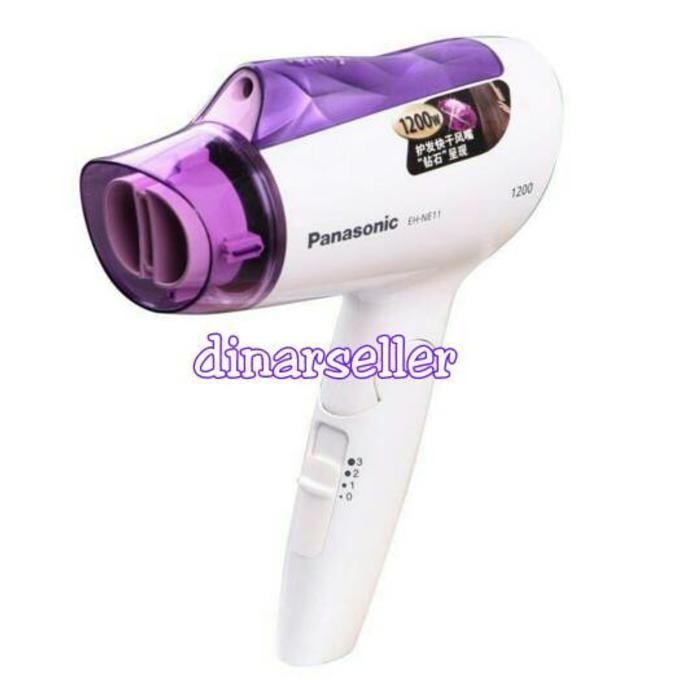 PANASONIC HAIR DRYER EH NE11 / PENGERING RAMBUT + ION EHNE11 - STYLE