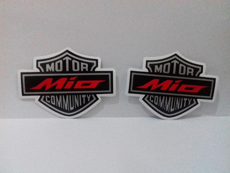 Stiker Mio Community isi 2 pcs