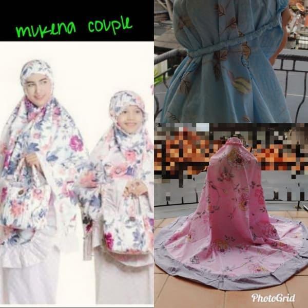 Mukena Couple Elena Cotton Jepang Diskon
