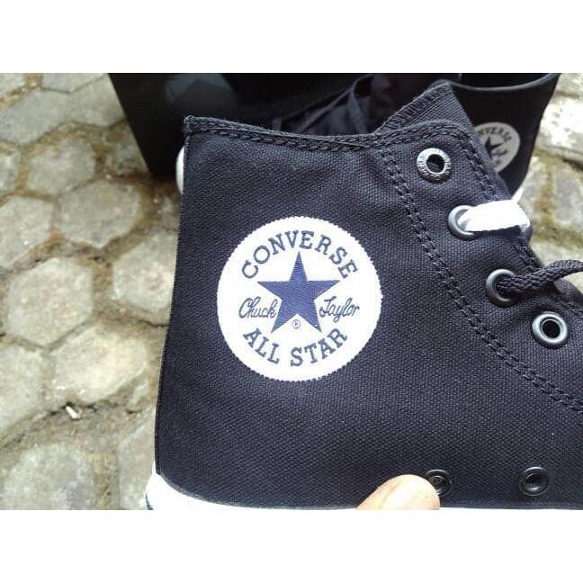 Promo Termurah Sepatu Converse Chuck Taylor 2 Black White Lunarlon Premium Ori BNIB Gratis Ongkir