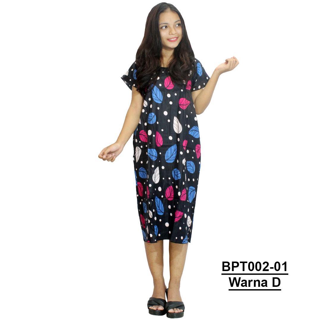 Midi, Daster Midi, Dress Santai, Baju Tidur, Piyama, Atasan Batik (BPT002-01) Batikalhadi Online