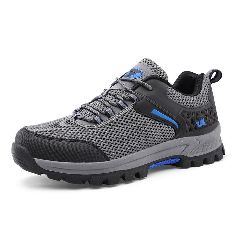 Sepatu Pria Outdoor Naik Gunung Tahan Cuaca Anti-Selip AIWOQI S953