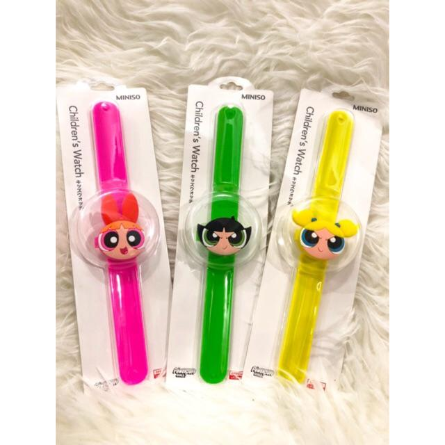 Jam Tangan Miniso Powerpuff Girls