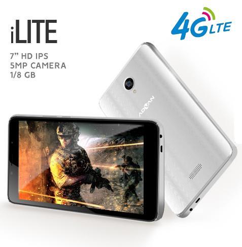 Advan iLite 4G LTE Tablet - 1GB/8GB - Garansi Resmi - 2