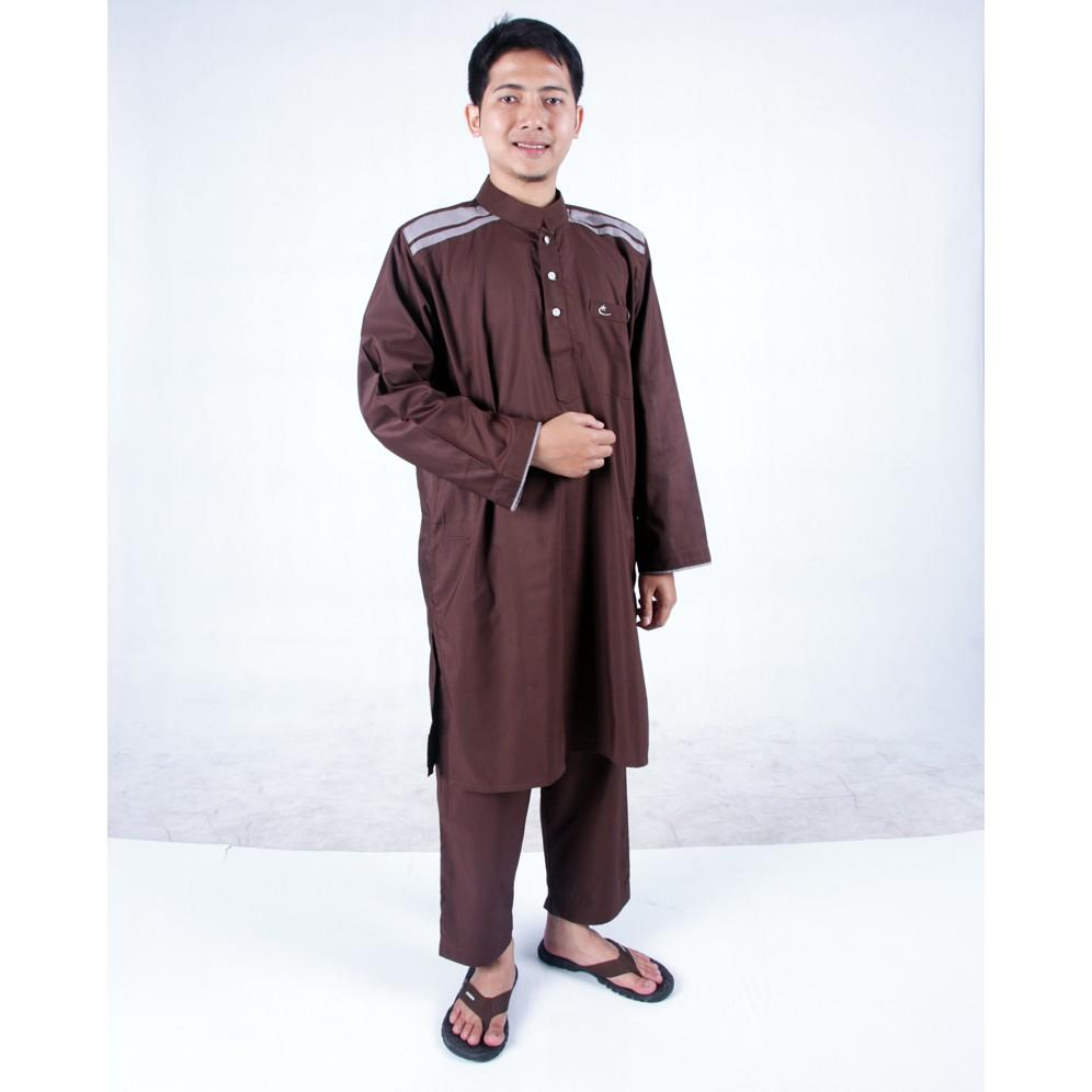 Baju muslim koko SETELAN PAKISTAN ARAB KURTA & CELANA SIRWAL Gamis Pria Cordova AL-ISRA Abu List Putih S