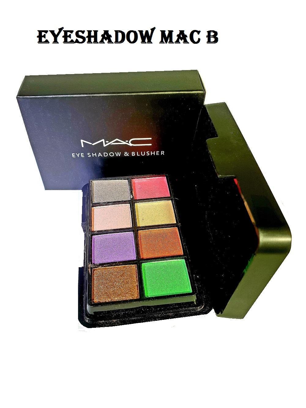 Berjaya Store - Make Up Palette Eyeshadow 8 Warna + Blusher / Blush On 2 Warna