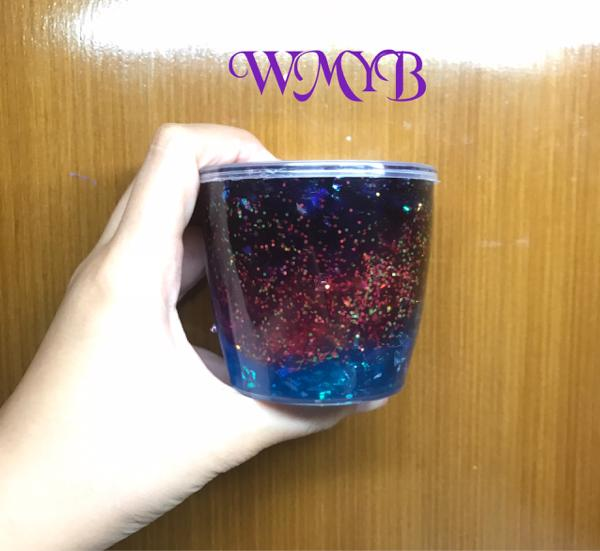 Galaxy Slime By Wmybshop Galaksi Bintang Clear Holdable Wangi