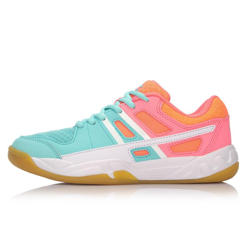 3f145361a16d0f LINING Badminton Shoes Women s Shoes Training Athletic Shoes Female Low Top  Breathable Anti-slip Wear