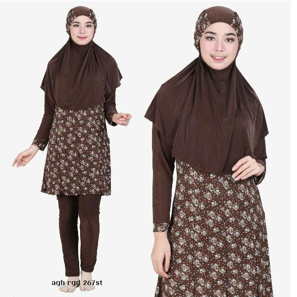 Promo Hari Ini Baju Renang Muslimah/Wanita/Perempuan/Syari Best Seler Aghnisan 165St Untuk Lebaran