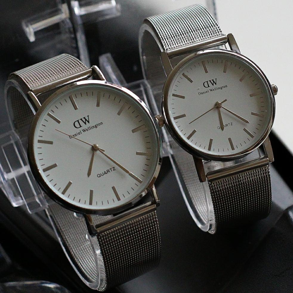 jam tangan couple Dw semi ori / jtr 1170 NEW