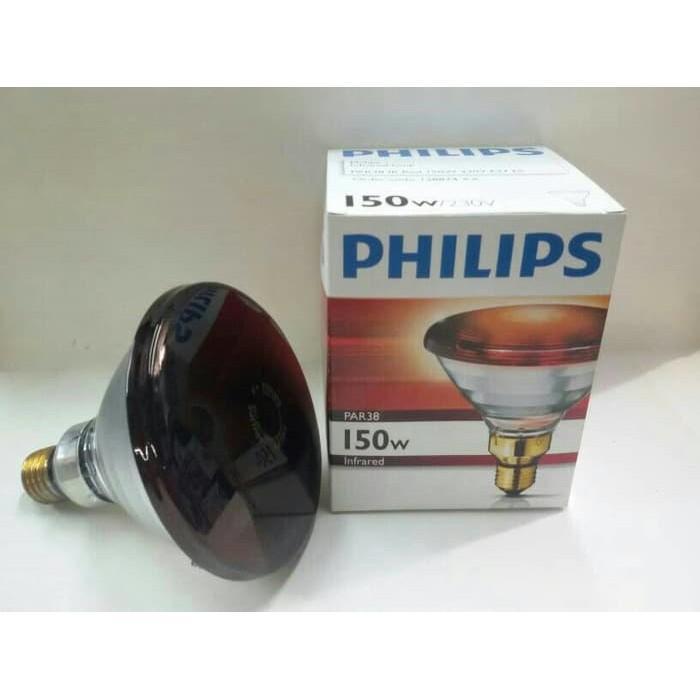Bohlam Lampu Infrared 150W PHILIPS / Lampu Terapi Philips