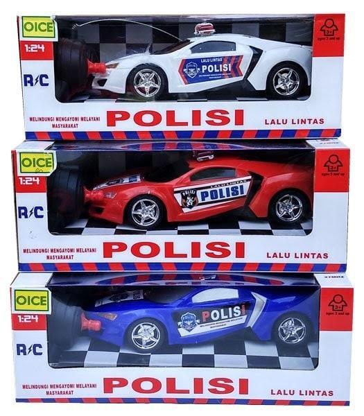Galeri Gambar OBRAL MURAH Mainan Anak Laki Laki - Mobil Remote Control Polisi Police Car RC