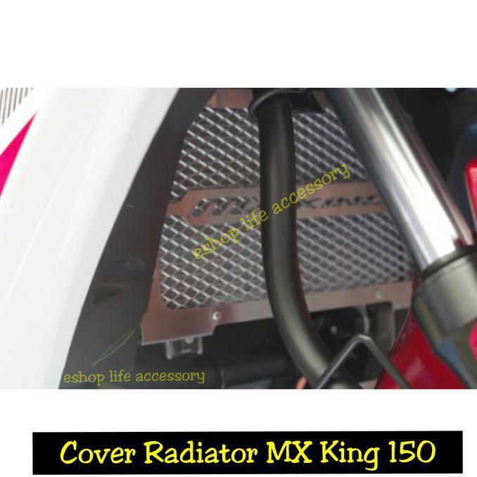 Aksesoris Cover Penutup Radiator Original Yamaha Jupiter Mx King 150 - Motor