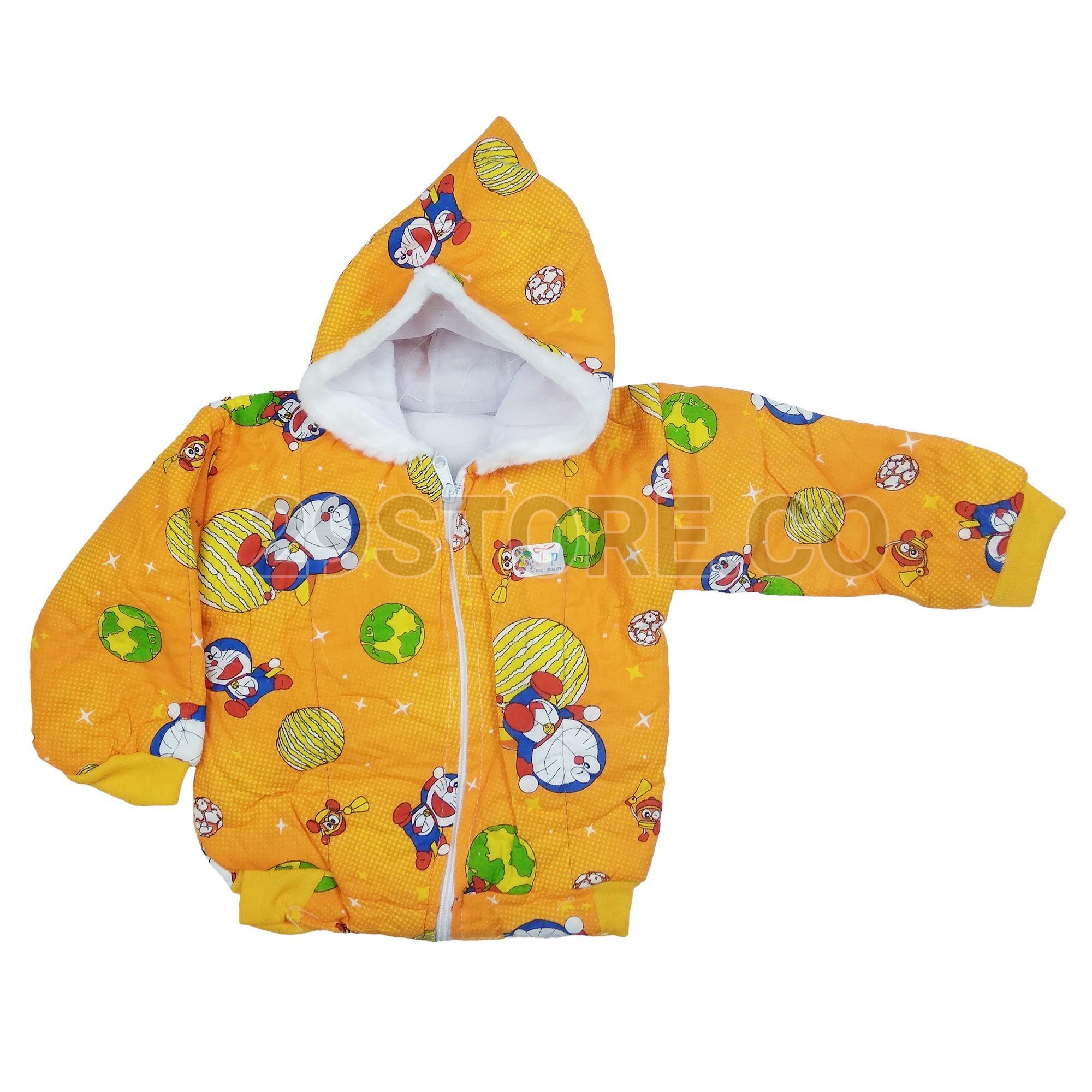 Jaket Hoodie Bulu Anak Bayi Cewek Perempuan Cowok Laki-Laki Motif