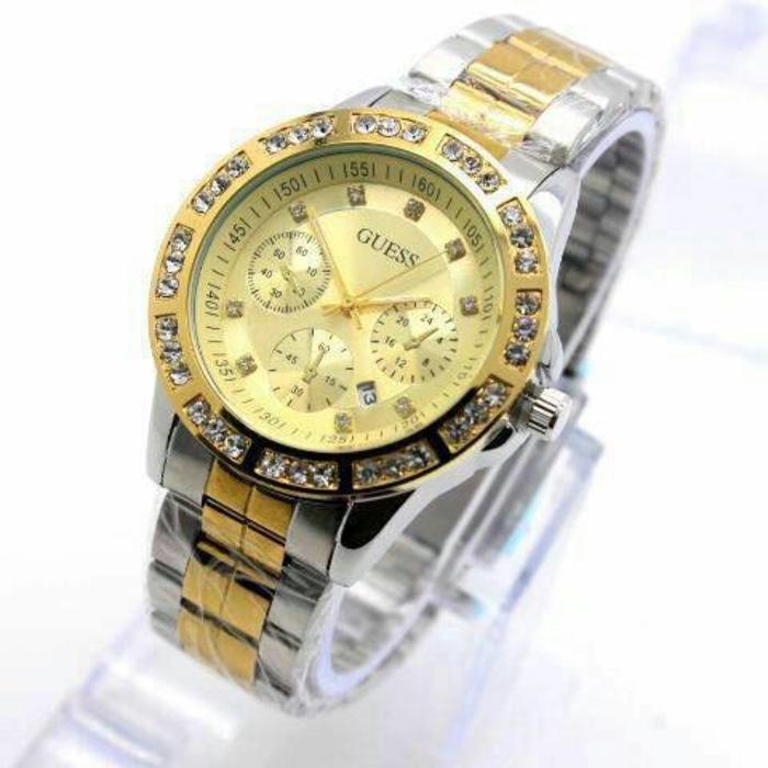 PROMO TERBATAS!!! jam tangan wanita guess ( rolex gucci bonia chopard casio hermes gc) Terbaru Murah
