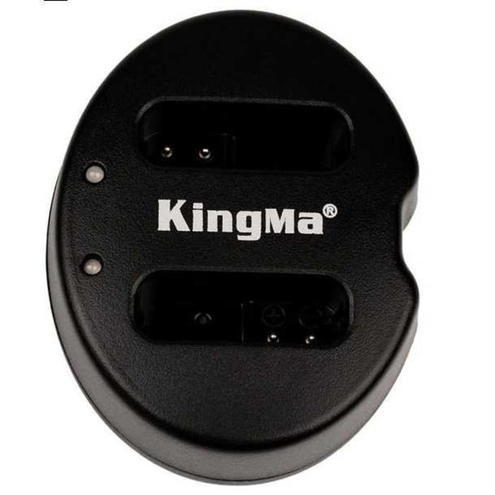 Kingma Charger Baterai 2 Slot Canon G1X Mark II N100 Mini X - NB-12L