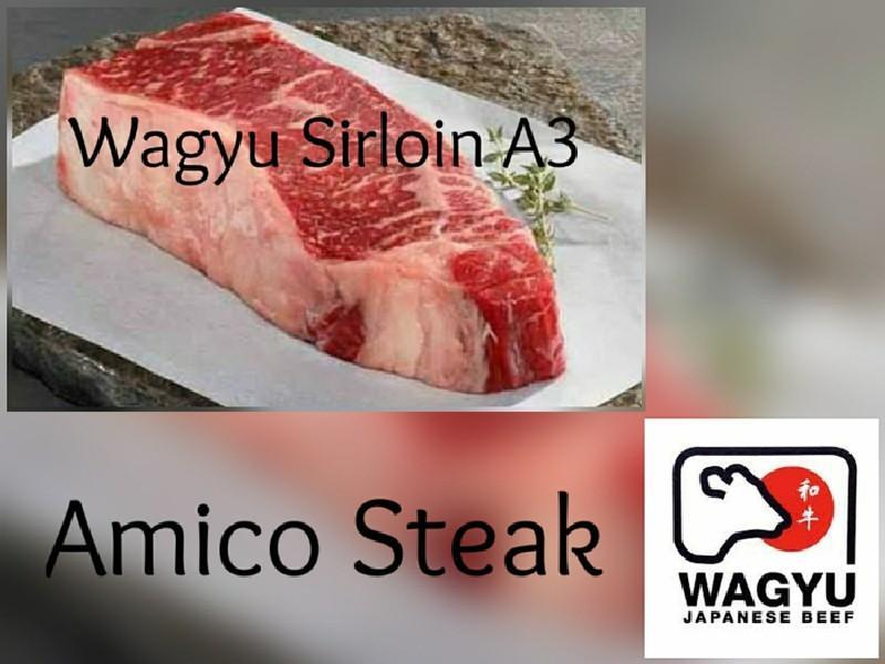 WAGYU SIRLOIN A3
