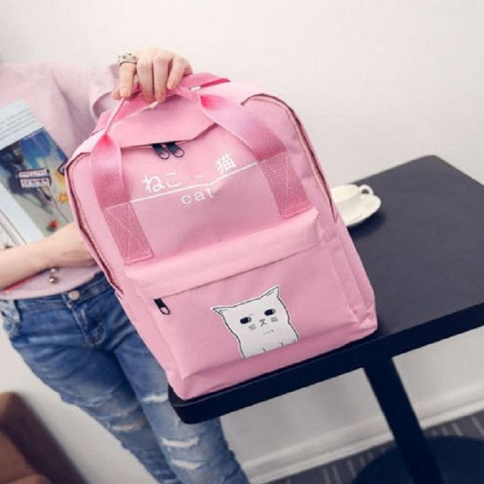 PROMO Tas RANSEL ANAK Remaja Dewasa Kids Jaman Now Korean Style MOTIF PANDAPANDA Kucing Hello kitty STAR WARS