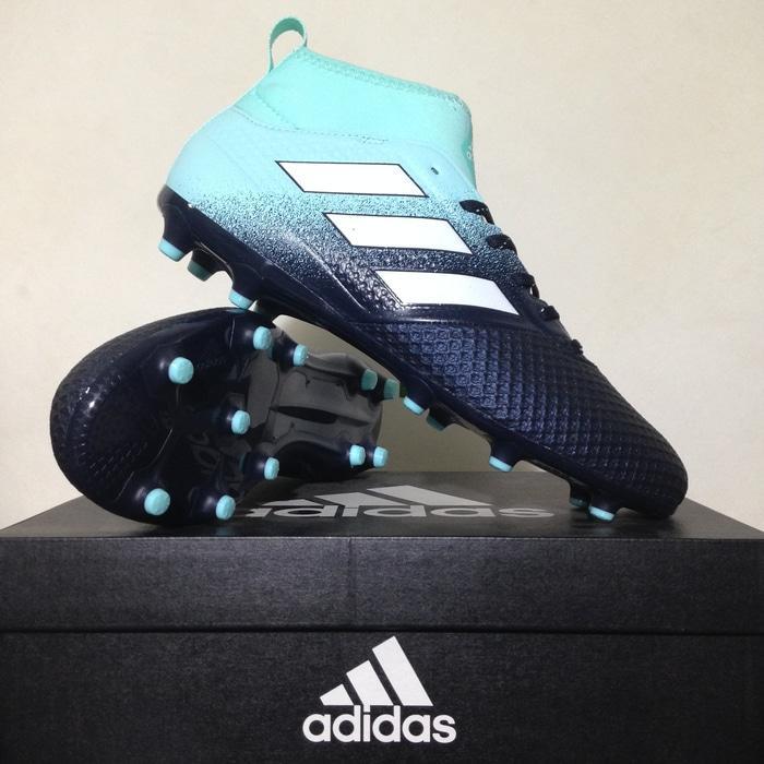 Sepatu Bola Adidas Ace 17.3 FG Black Lightblue BY2198 Original BNIB - 4H0Xyf