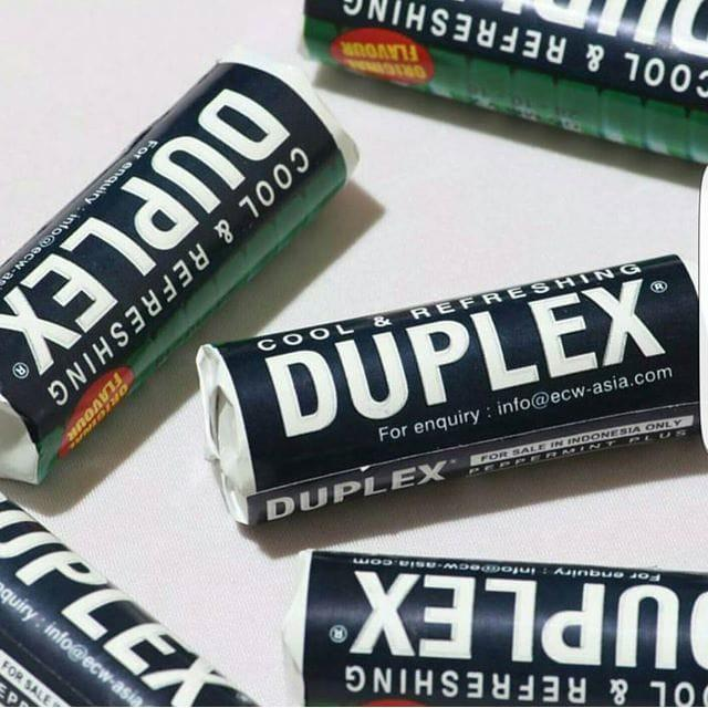 Permen Jadul Duplex Peppermint Plus / Cool Refreshing Candy / Mint
