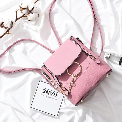 vedlyn tas wanita berkualitas tas import / tas batam model tas korea tas fashion zaman now !! B369 PINK