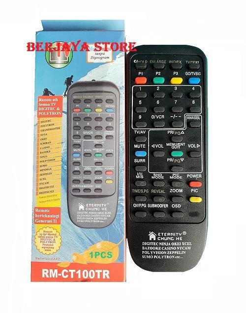 Berjaya Store - Remote TV Polytron & DigitecTabung