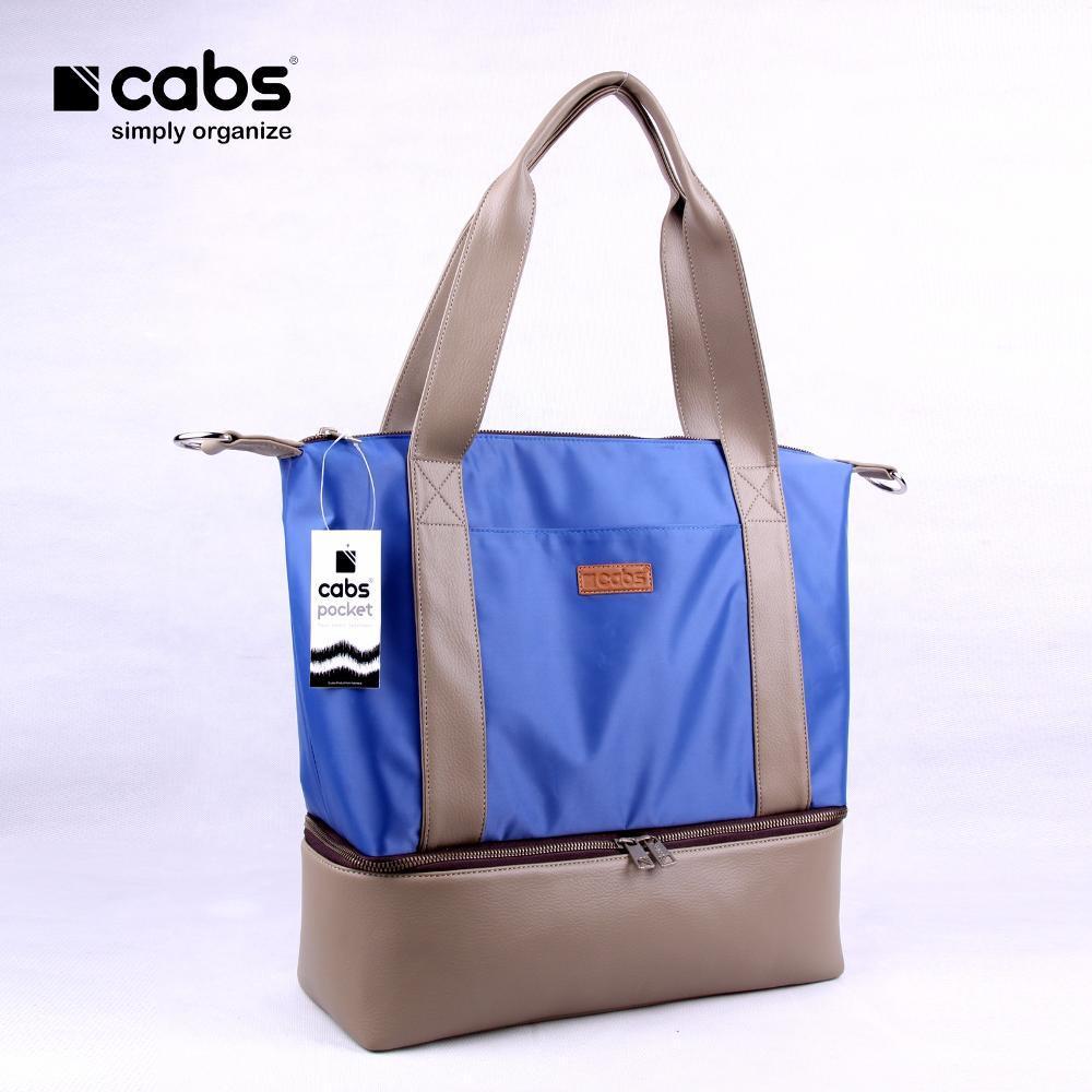 Cabs Pocket Megan (Tas Wanita Selempang Cewek Tas Jinjing Tote Bag Multifungsi Tas Bayi Sling Bag Shoulder Bag Baby Bag) Blue