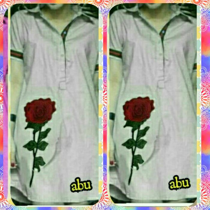 Dress Gucci Flower Bordir