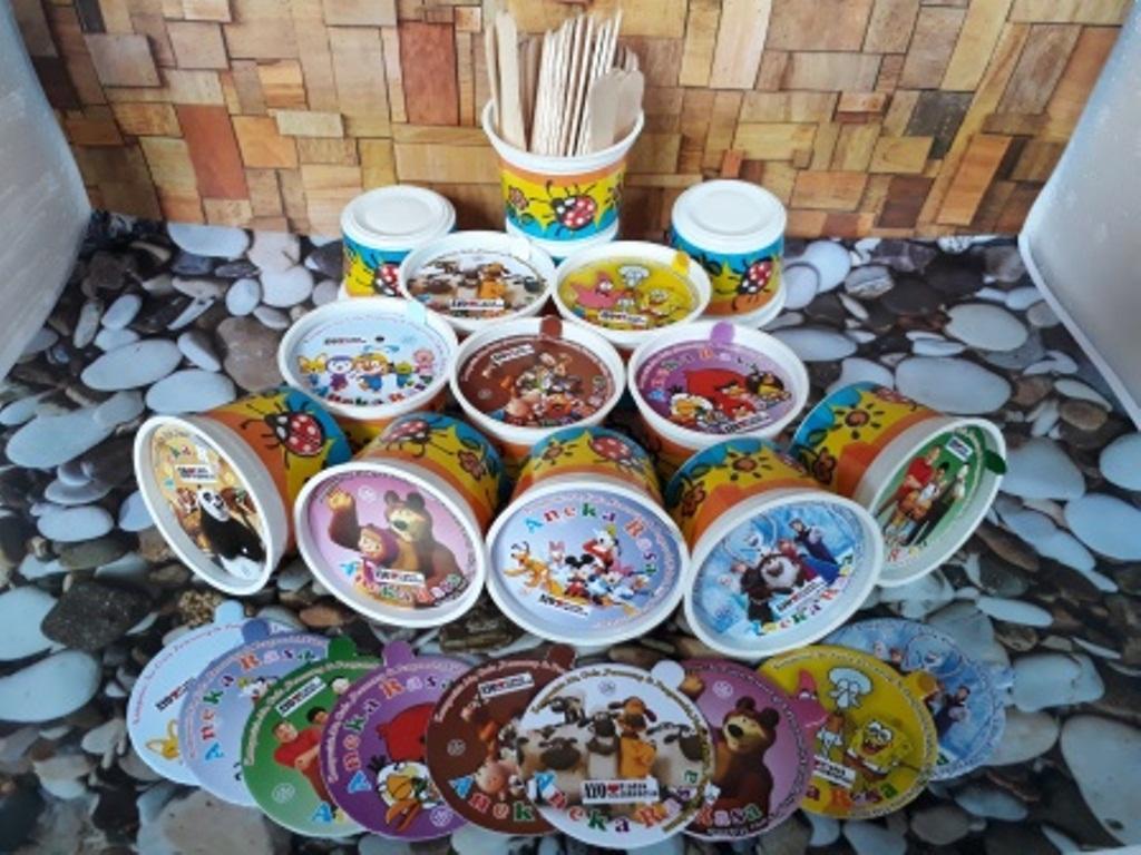 cup kertas ice cream 100 ml / cup kertas grosir / cup kertas harga / jual cup kertas