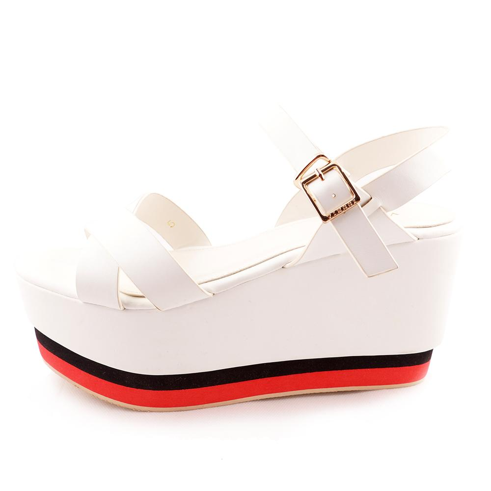 XWV 31057 White Wedges Vincci Original