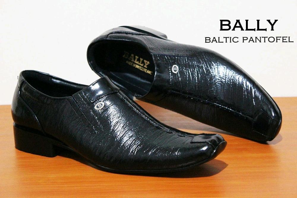 Promo BALLY Pantofel Kulit Asli - Sepatu Premium Formal Dan Kerja Karir Pria Diskon