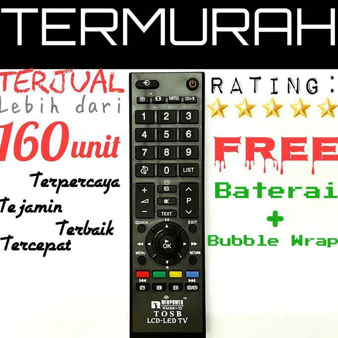 BEST SELLER Remot / Remote TV Toshiba LED / LCD / Plasma / Tabung / Regza
