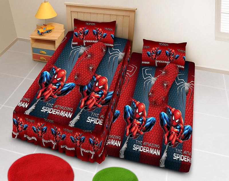 Kintakun D'luxe Sprei 2in1 - 120 x 200 (Single) - Amazing Spiderman