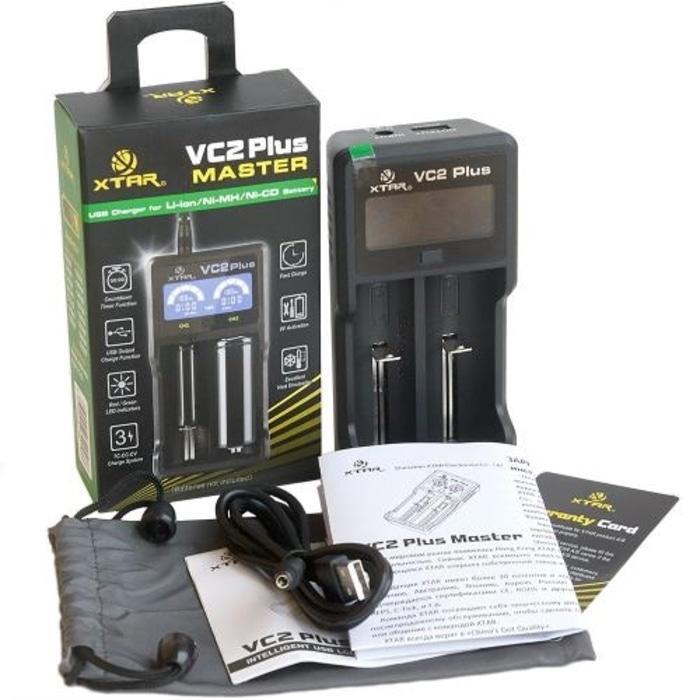 PROMO  Xtar VC2 Plus Master Battery Charger 2 Slot for Li-ion and Ni-Mh  TERLARIS