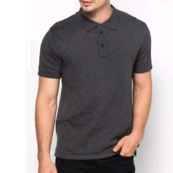 Penjualan Polos Shirt Polos M L XL Lengan Pendek Kaos Kerah Pakaian  Berkerah Atasan Pria Wanita Cewek Cowok Lacos Pique Lacost Fashion Simple  Keren Simpel ... ae46bd6f67