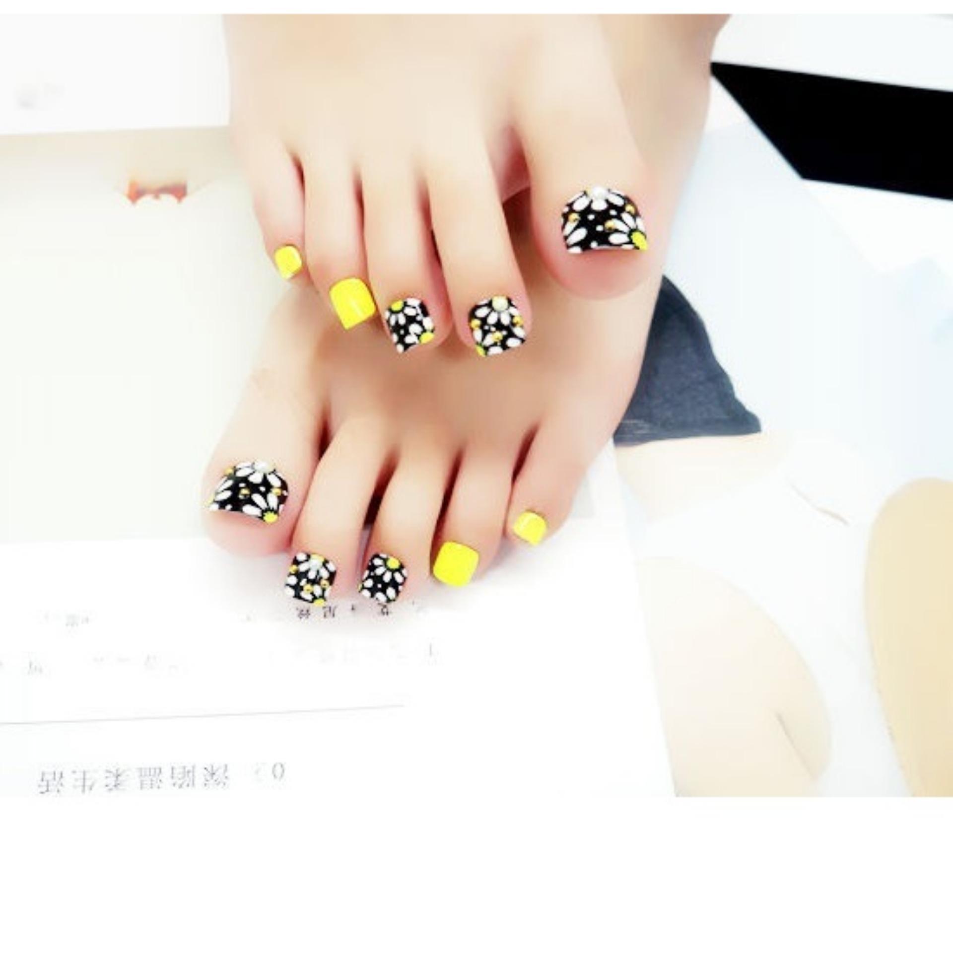 Fitur Kuku Palsu Jbs Nails Pengantin Warna 3d A26 Dan Harga Terbaru Wedding Fake Nail Art Simple A13 Kaki Blink Black Flower A8