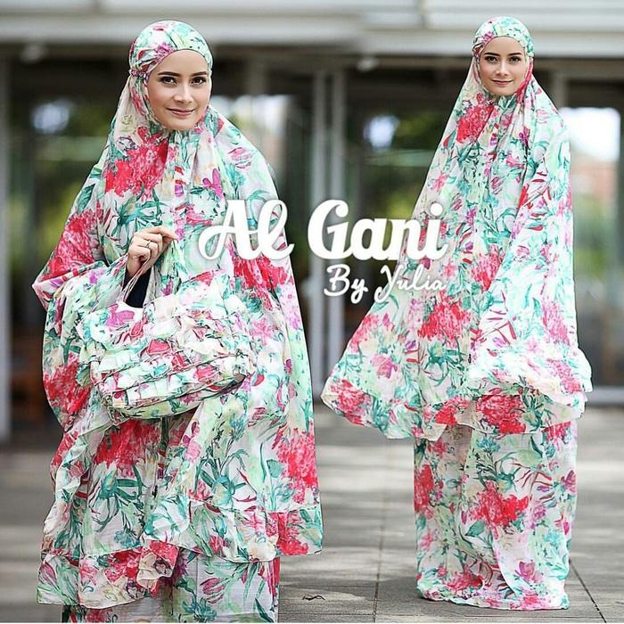 Mukena Al Gani Ruffle motif by Yulia