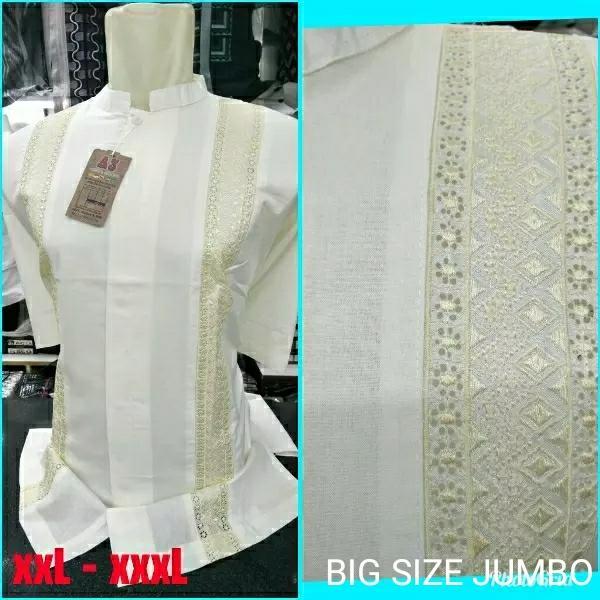 Promo Baju koko jumbo big size xl xxl xxxl, baju koko ukuran besar jumbo 3L Fashion