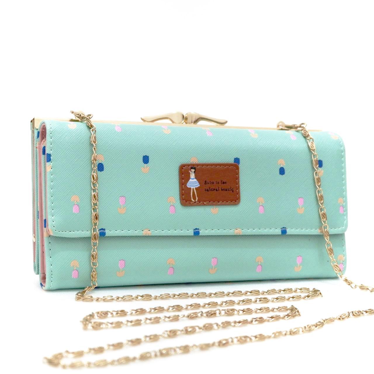 Jims Honey - Dompet Wanita Import - Titan Wallet (Tosca)