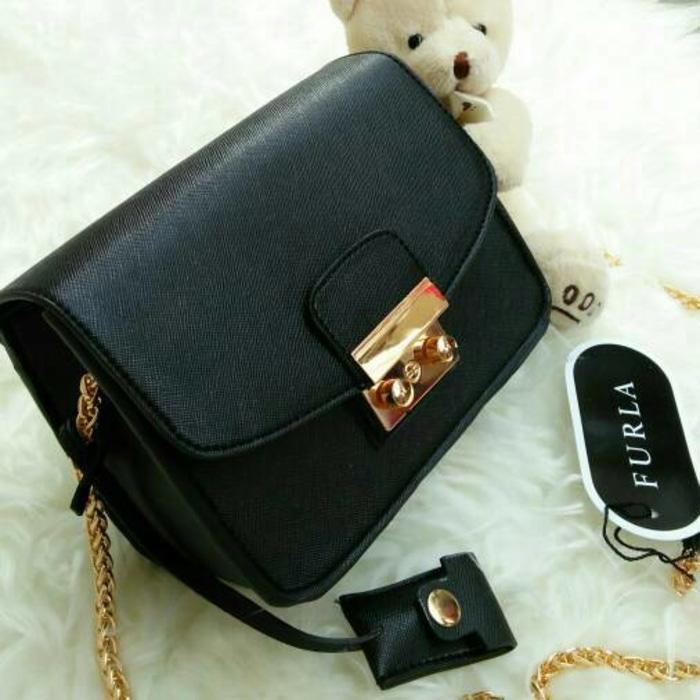Tas Fashion Rantai Branded Furla Metropolis Mini 16CM Harga Murah